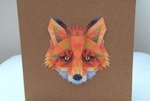 Foxes on Folksy / A selection of Fox inspired items for sale on Folksy
