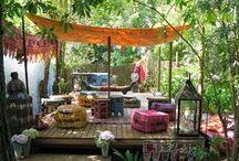 garden - living outdoors
