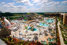 """Wisconsin Dells, Wisconsin / With an emphasis on family-friendly atmosphere, Wisconsin Dells, Wisconsin, which is known as the """"Water Park Capital of the World,"""" is never short on fun. Start planning your next vacation now!"""