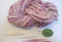 *ML* Mis Lanas *ML* / Hilados de lana merina hechos con mucho mimo con mi rueca!