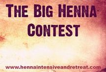 The Big Henna Contest / The Big Henna Contest  A contest for henna artists of all levels. Entry is free & open to anyone who would like to compete! Win a FREE registration to the Henna Intensive & Retreat 2013!!*  Prize is non-transferable. Winner must be able to attend the retreat from September 12th to 15th, 2013. See our website for more details: www.hennaintensiveandretreat.com  VOTE FOR YOUR FAVORITE BY CLICKING THE HEART/FAVORITE!