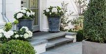 Outdoor Areas / Garden design ideas #garden #outdoorspace