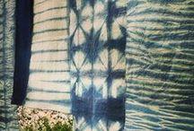 *ML* Shibori *ML* / Mis trabajos de shibori, una forma genial de crear patrones naturales!