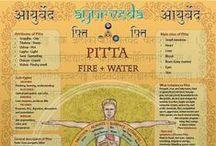 Ayurveda Pitta / De Pitta Dosha combineert het vuur- met het waterelement en staat voor het energieprincipe. De primaire functie van Pitta is transformatie bijv. het reguleren van de lichaamshitte door de transformatie van voeding in energie. Het houdt de  enzymen en zelfs neurotransmitters in evenwicht.  Pitta heeft in het lichaam te maken met stofwisseling en de spijsvertering. Pitta personen kunnen nogal eens 'last' hebben van een vurig karakter.