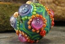 Glass beadmaking / Glazen kralen branden