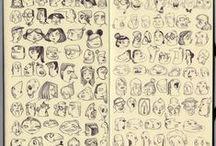 Artbooks, sketchbooks, zines