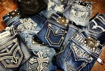 For the love of denim / Obsessed with anything denim!!!