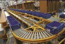Conveyors for distribution center // Dopravníky pro distribuční centra / Conveyor systems // Dopravníkové systémy