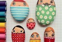 Creative with kids / Kreativ med ungerne