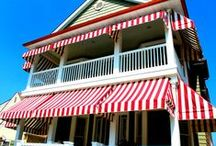 Awnings and Canopies by Bill's Canvas Shop / A collection of Awnings and Canopies by Bill's Canvas Shop. Located in Woodbine, New Jersey. Much of work is focused on the South Jersey Shore area, however, we also service Philadelphia and Princeton!