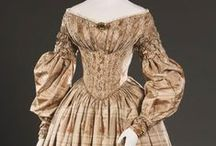1830s fashion / What women were wearing in the 1830s / by Barb Evil Genius