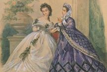 1860s fashion / What women wore in the 1860s / by Barb Evil Genius