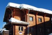 Snow Retreat Chalets / Pictures of the chalets Snow Retreat operates. #Latania #Courchevel