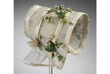 1840-60s bonnets / Early to mid-Victorian bonnets and hats from the 1840s, 1850s, 1860s and the Natural Form Period (1877-82): silk bonnets, quilted winter bonnets, slat and corded sunbonnets, straw hats ...
