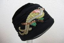 1920s cloche hats and gloves / Cloche hat, summer hat, leather gloves, knit and crochet gloves ...