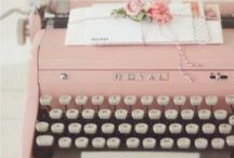 Vintage Typewriters / Yes, I can type and fast too :P