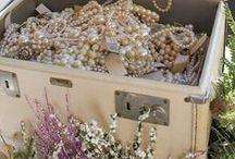 Jewelery Box Treasures / Music boxes = memories