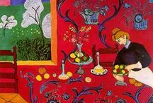 Henri Matisse Art / The Red Room