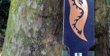 Longboard / Longboards selber bauen... und Dinge aus Longboards bauen  Lass Dich inspirieren :-)