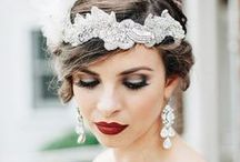 Wedding Makeup Inspiration / Beautiful wedding hair inspiration no matter what your style is! Natural, elegant, glam – we've got you covered! Brought to you by Milroy's Formal Wear.  www.MilroysFormalWear.com