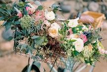 Vintage Wedding Inspiration / Vintage wedding inspiration including everything from place cards, invites, decor, and more! Brought to you by Milroy's Tuxedos.  www.MilroysTuxedos.com