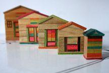 Little houses / All kind small houses , decor