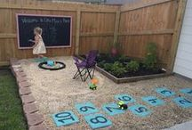 Backyard Fun for Kids / I would love to do this for my kids and still have a great garden.