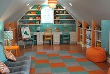My Attic / Hope to turn my Attic into something the kids could love  Or just more store room for mommy and her books.