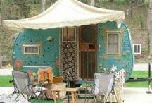 Camper Love / Every thing and anything about campers I like. Parties, Décor,Needlework