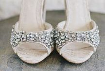 Wedding Shoes / From sneakers to sandals to the classic heel, find inspiration for the perfect wedding shoe! Brought to you by Milroy's Formal Wear.  www.MilroysFormalWear.com