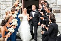 Real Weddings / Real weddings by real people! Brought to you by Milroy's Tuxedos.  www.MilroysTuxedos.com