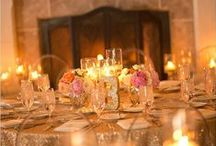 Metallic Wedding Inspiration / Classic wedding inspiration including everything from place cards, invites, decor, and more! Brought to you by Milroy's Tuxedos.  www.MilroysTuxedos.com