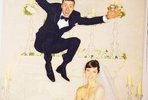 Celebrity Weddings / Straight from the Red Carpet, get inspired by your favorite stars! Brought to you by Milroy's Tuxedos.  www.MilroysTuxedos.com