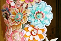 Crafty Things / I am a crafty person, so pinterest is the thing for me! I can proudly say that I have fully acomplished some of these projects and I love them. They definetly fill up my house with the old vintage spirit that my mom loves to see! / by Sierra Evans