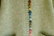 DIY knit clothing