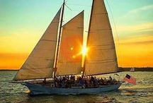 Newport, RI - more than meets the eye / Madeleine and Rum Runner II's hometown - see what its all about.