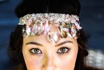 Bohemian Gypsy Bride / The feel and freedom of elopement is embodied by the boho gypsy bridal trend.