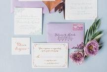 Dream Wedding Stationery / Your wedding theme starts here!