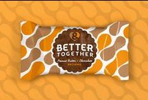 Better Together Brownies / When Todd & Kestra Kelly quit their day jobs to follow their love of baking, they set out to elevate a classic American treat. They came to Chase Design Group to give them the tools needed to attain broader distribution.