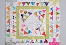 MEDALLION QUILTS / A medallion quilt is a quilt that starts with a center block and then has rounds, that go around your center block, and then another round and another round.  It's a great 'other' option for the sampler quilt.