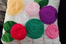 stofFUN ♥ diy cushions / All kind of DIY cushions to brighten up your house.