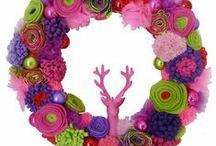 stofFUN ♥ christmas wreaths / Merry merry christmas wreaths.