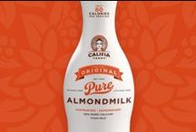 Califia Farms / From brand vision to packaging and support, Chase brought Califia, the mythical goddess of California abundance, to life as the face of the brand. A graceful and iconic package shape that evoked classic fresh milk bottles completes the picture of farm to table goodness.