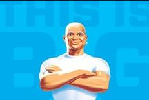 Mr. Clean / The Mr. Clean redesign is a holistic brand restage that leverages the Mr. Clean character's unique backstory and personality to connect with consumers at all touchpoints. Chase put Mr. Clean back in the spotlight; he now delivers the product and brand story in his unique and ownable way.