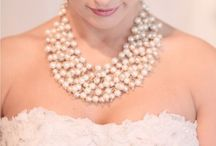 Bridal jewelry / A bling touch to the bride.