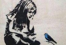 Art ✿ Banksy ✿ ✿ / Art de rue, graff