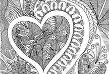 Art ✿ Zentangle & Mandala ✿ ✿ / dessin