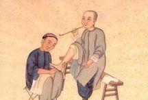Soin du corps & de l'esprit / #acuponcture, acupression #massage #médécine chinoise #méridiens