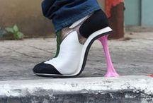 Chaussures originales & surprenantes / On aime ou on déteste ces chaussures originales parfois drôles, importables, des wtfshoes! #love #hate #wtf #original #shoes
