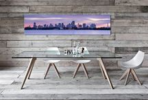 Wall Art in Homes / #art #young artists #wall art #inspiration #graffiti #on the wall #acrylic #brushed aluminium #in homes